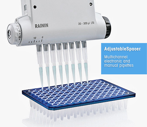 Adjustable Spacer Pipettes